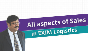 All aspects of Sales in EXIM Logistics