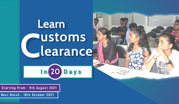Learn Customs Clearance in 20 Days