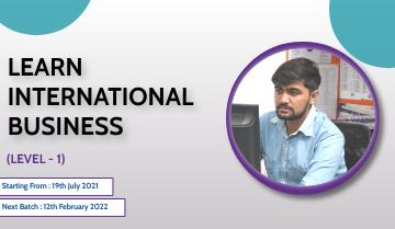 Learn International Business (Level-1)