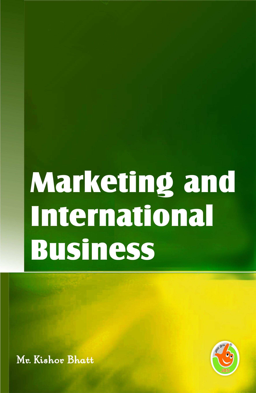 Marketing and International Business