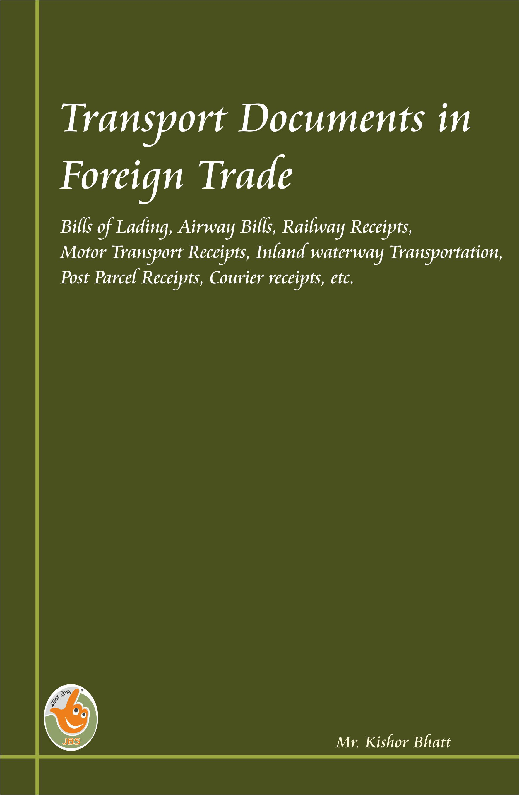 Transport Documents in Foreign Trade