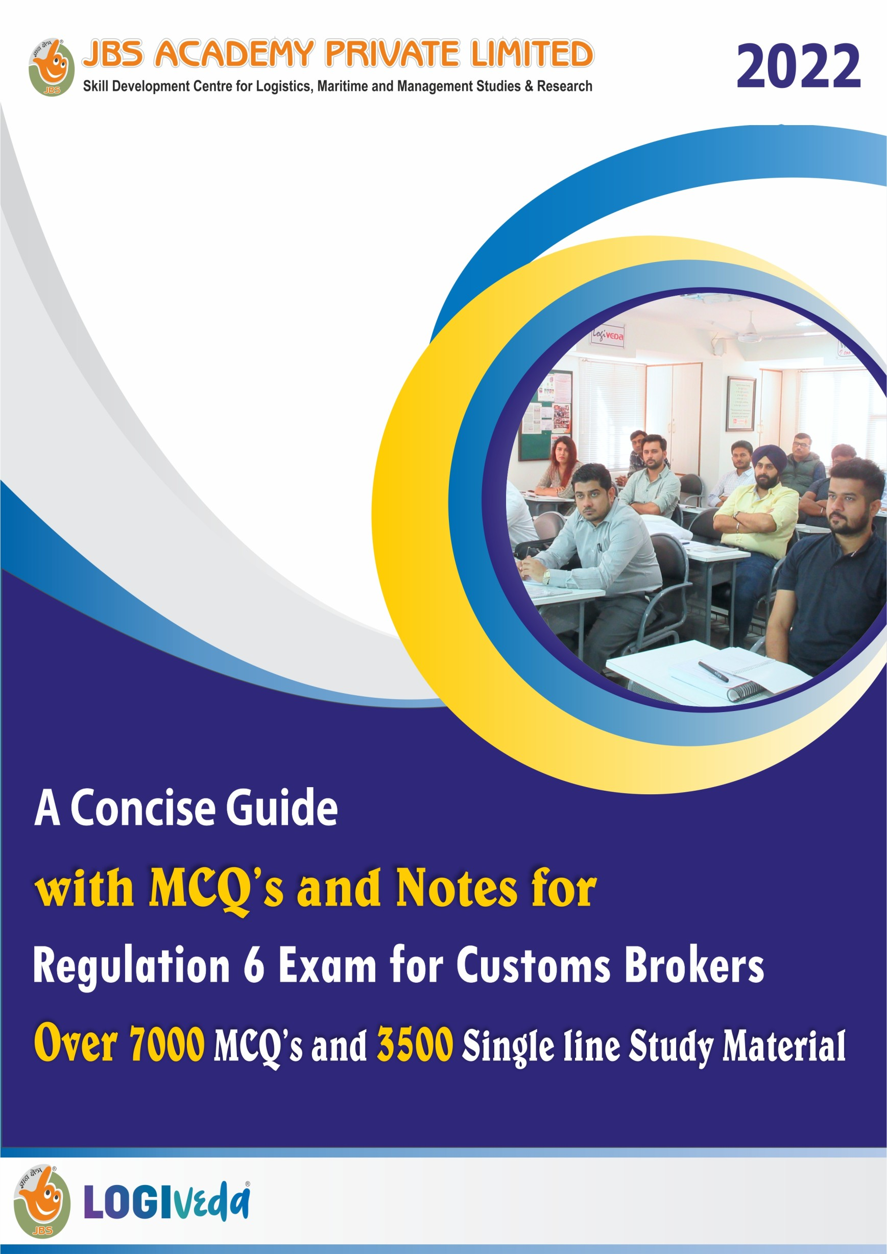 SET OF 3 PRACTICE MCQ BOOK FOR REGULATION 6 CUSTOMS BROKER EXAMINATION - FOR MARCH 2021